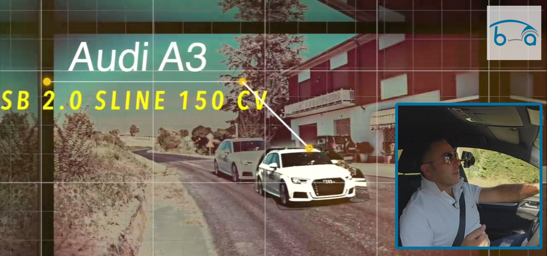 PROVA SU STRADA | Audi A3 Sportback 2.0 TDI 150 Sport S-Line S-Tronic